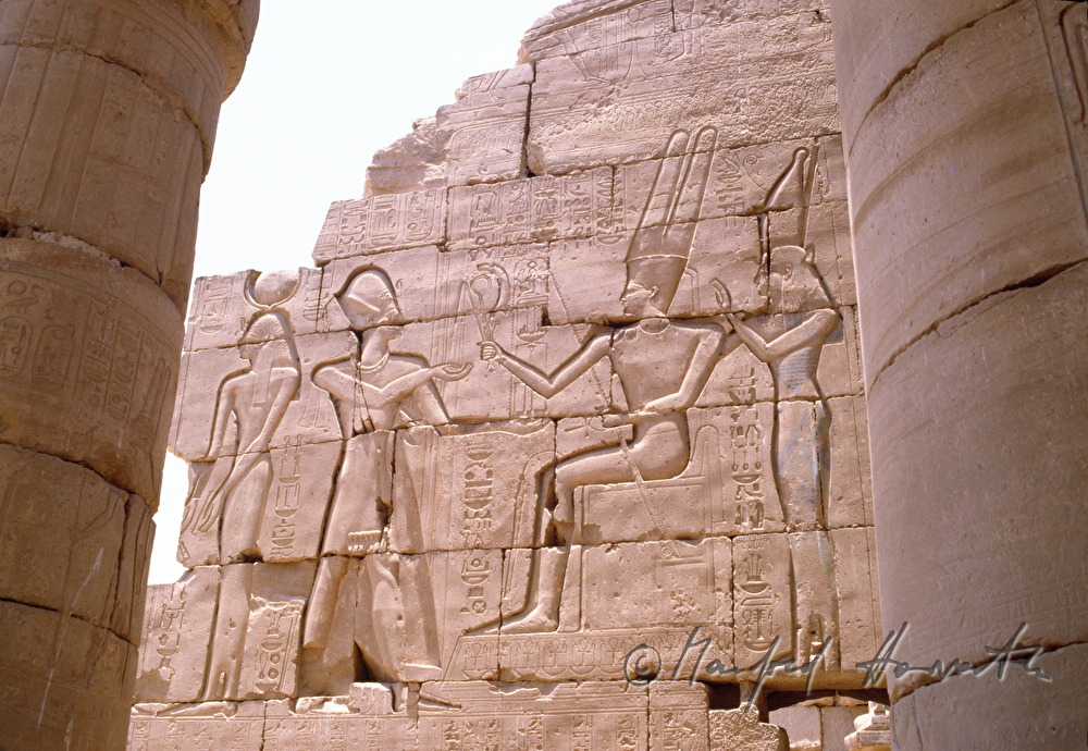 detail of the Ramesseum